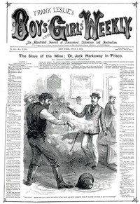 Cover of The Slave of the Mine; or, Jack Harkaway in 'Frisco