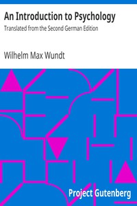 Cover of An Introduction to PsychologyTranslated from the Second German Edition