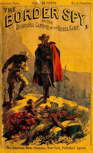 Cover of The Border Spy; or, The Beautiful Captive of the Rebel Camp A Story of the War