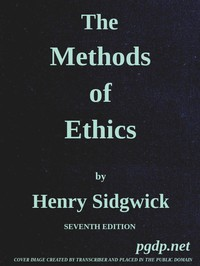 Cover of The Methods of Ethics