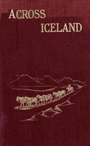 Cover of Across Iceland