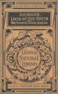 Cover of Lives of the English Poets Gay, Thomson, Young, Gray, &c.