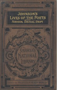 Cover of Johnson's Lives of the Poets — Volume 1