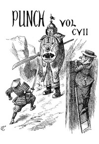 Cover of Punch, Or the London Charivari, Volume 107, December 8th, 1894