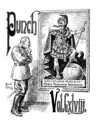 Cover of Punch, Or the London Charivari, Volume 148, January 6th, 1915