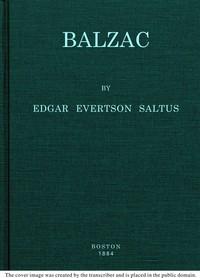 Cover of Balzac