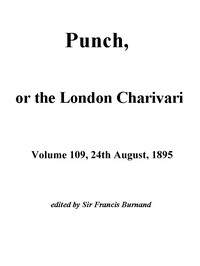 Cover of Punch, or the London Charivari, Vol. 109, August 24, 1895