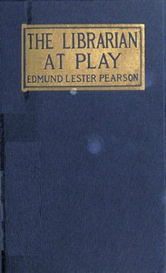 Cover of The Librarian at Play