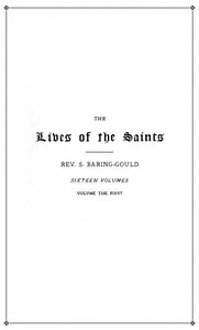 Cover of The Lives of the Saints, Volume 01 (of 16): January