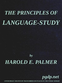 Cover of The Principles of Language-Study