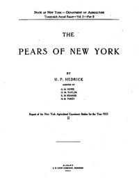 Cover of The Pears of New York