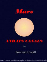 Cover of Mars and Its Canals