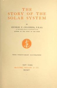 Cover of The Story of the Solar System