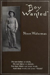 """""""Boy Wanted"""": A Book of Cheerful Counsel"""