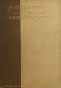 Schenk's Theory: The Determination of Sex