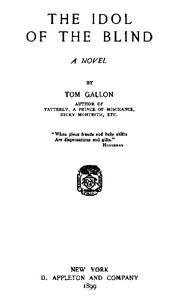 The Idol of the Blind: A Novel