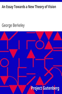 Cover of An Essay Towards a New Theory of Vision
