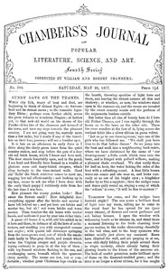 Chambers's Journal of Popular Literature, Science, and Art, No. 700May 26, 1877