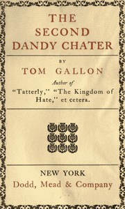 The Second Dandy Chater