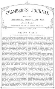 Cover of Chambers's Journal of Popular Literature, Science, and Art, No. 701June 2, 1877