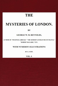 Cover of The Mysteries of London, v. 1/4