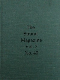 Cover of The Strand Magazine, Vol. 07, Issue 40, April, 1894 An Illustrated Monthly