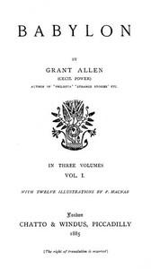 Cover of Babylon, Volume 1