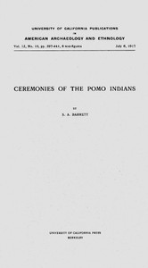 Cover of Ceremonies of the Pomo Indians