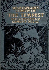 Cover of Shakespeare's Comedy of The Tempest