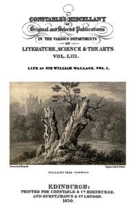 Cover of Life of Sir William Wallace of Elderslie, Vol. 1 (of 2)
