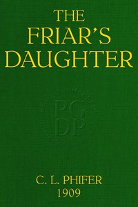 Cover of The Friar's Daughter: A Story of the American Occupation of the Philippines