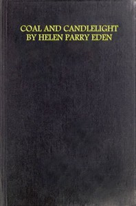 Cover of Coal and Candlelight, and Other Verses