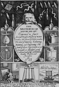 The Mysteryes of Nature and Art Conteined in foure severall Tretises, The first of water workes, The second of Fyer workes, The third of Drawing, Colouring, Painting, and Engraving, The fourth of divers Experiments, as wel serviceable as delightful: partly Collected, and partly of the Authors Peculiar Practice, and Invention