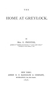 Cover of The Home at Greylock