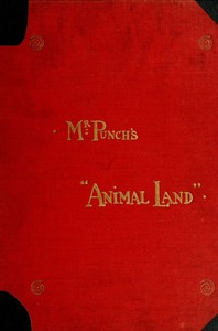 """Cover of Mr. Punch's """"Animal Land"""""""