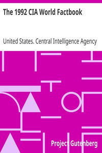 Cover of The 1992 CIA World Factbook