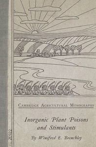 Cover of Inorganic Plant Poisons and Stimulants