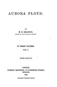 Cover of Aurora Floyd, Vol. 1 Fifth Edition