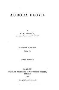 Cover of Aurora Floyd, Vol. 2 Fifth Edition