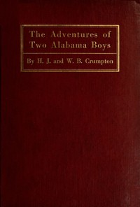 Cover of The Adventures of Two Alabama Boys
