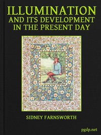 Cover of Illumination and Its Development in the Present Day