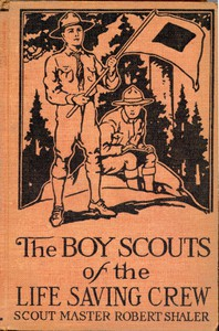 Cover of The Boy Scouts of the Life Saving Crew