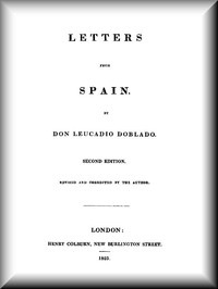Cover of Letters from Spain