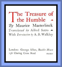 Cover of The Treasure of the Humble