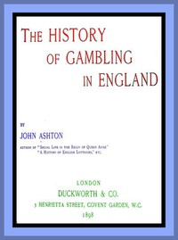 Cover of The History of Gambling in England