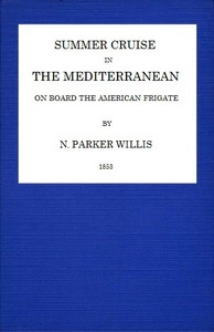Cover of Summer Cruise in the Mediterranean on board an American frigate