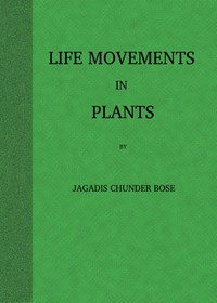Cover of Life Movements in Plants, Volume I