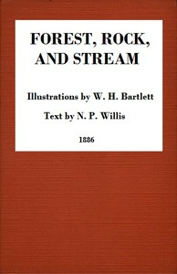 Cover of Forest, Rock, and StreamA series of twenty steel line-engravings