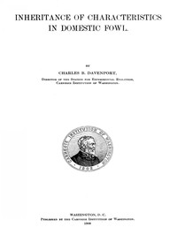 Cover of Inheritance of Characteristics in Domestic Fowl