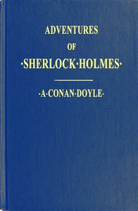 Cover of Adventures of Sherlock HolmesIllustrated